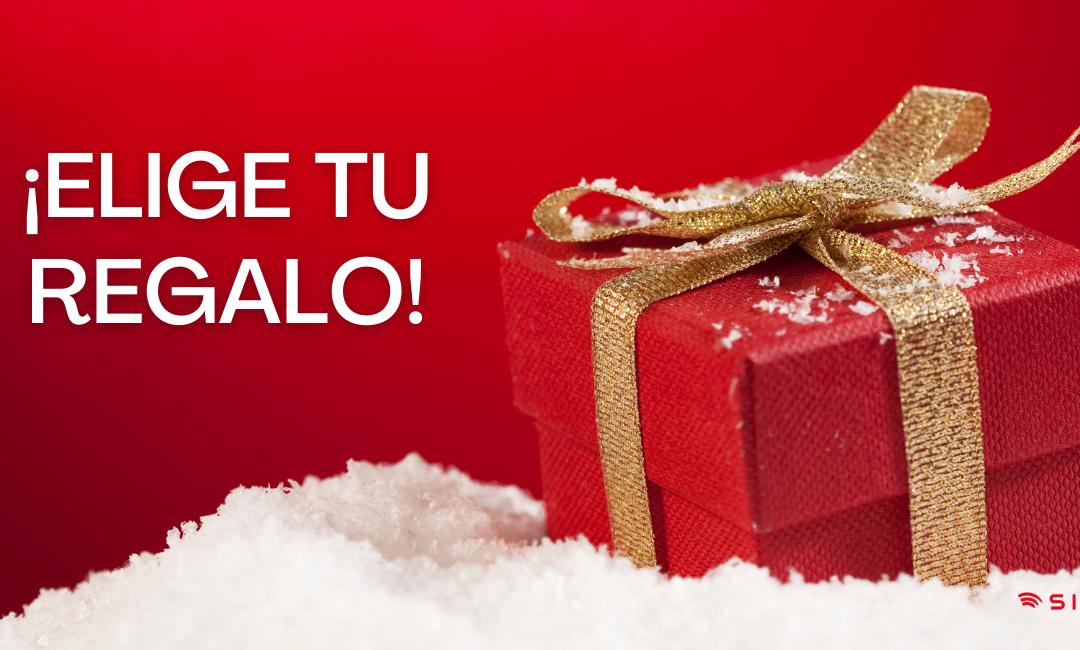 ¡Elige tu regalo de Navidad!